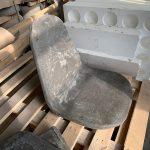 Бетонный стул